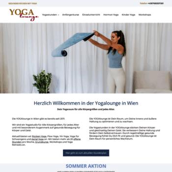 Yoga-lounge.at thumbnail