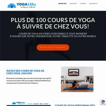 Yoga123.fr thumbnail