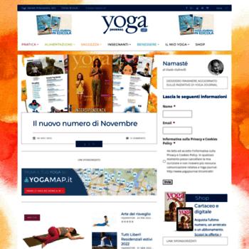 Yogajournal.it thumbnail