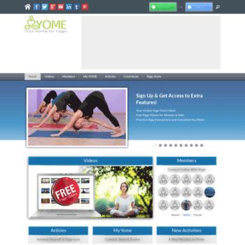 Yogameditationhome.com thumbnail