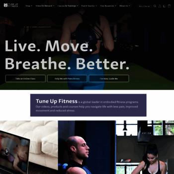 Yogatuneup.com thumbnail