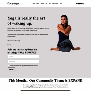 yogawithadriene com at WI  Yoga With Adriene | Free Yoga Videos