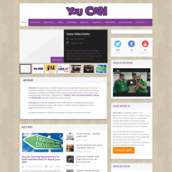 Youcan.me.uk thumbnail