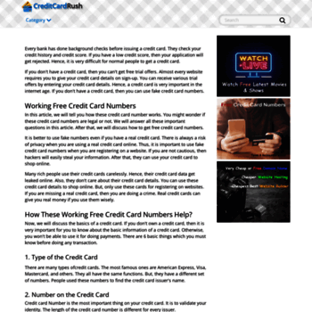 youlicense com at WI  Free Credit Card Number Generator 2019