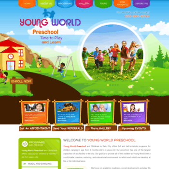 Youngworldpreschool.org thumbnail