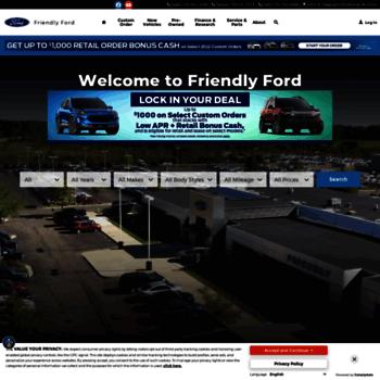 Friendly Ford Monroe Mi >> Yourfriendlyford Com At Wi Friendly Ford Ford Dealership