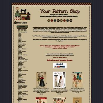 Yourpatternshop.com thumbnail