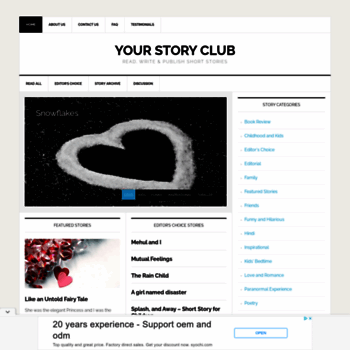 Yourstoryclub.com thumbnail