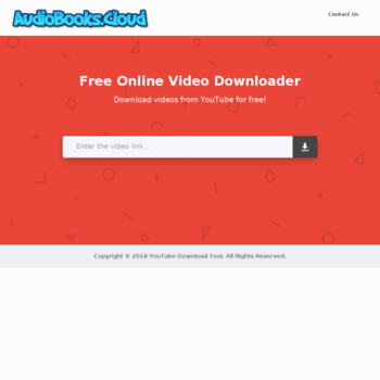 ytdownload audiobooks cloud at WI  YouTube Download Tool