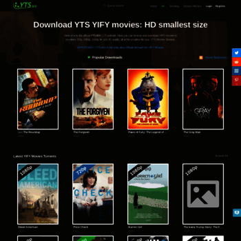 yts ag at WI  The Official Home of YIFY Movies Torrent