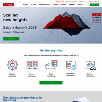zabbix com at WI  Zabbix :: The Enterprise-Class Open Source
