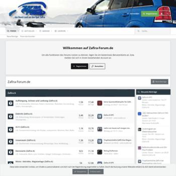 Zafira-forum.de thumbnail