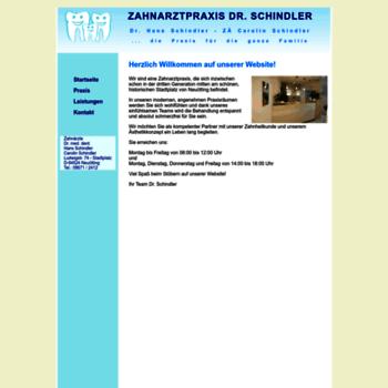 Zahnarzt-drschindler.de thumbnail