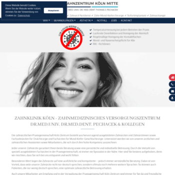 Zahnklinik-koeln-zentrum.de thumbnail