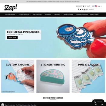 zapcreatives co uk at WI  Sticker Printing, Custom Charms