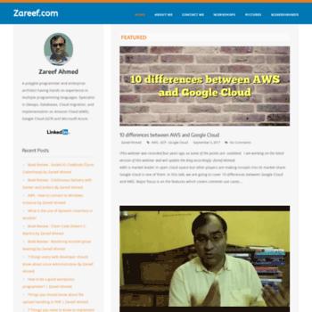 Zareef.net thumbnail