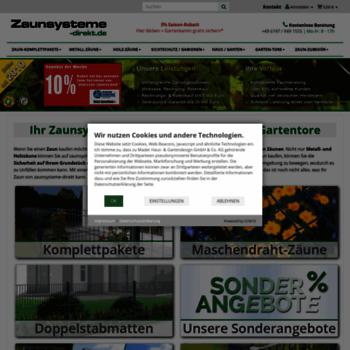 Zaunsysteme-direkt.de thumbnail