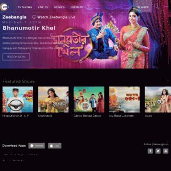zeebangla com at WI  ZEE BANGLA - Bangla Entertainment Online