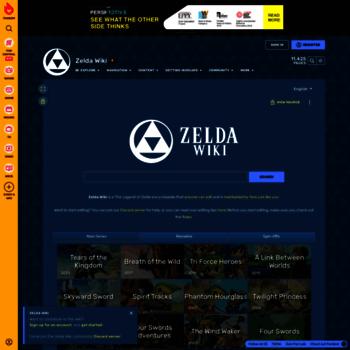Zeldawiki.org thumbnail