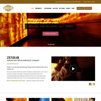 zenbarhealing com at WI  Zenbar Healing Studio & Medical SpaZenbar
