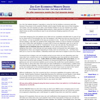Zencart-ecommerce-website-design.com thumbnail