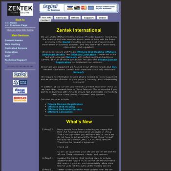 Zentek.net thumbnail