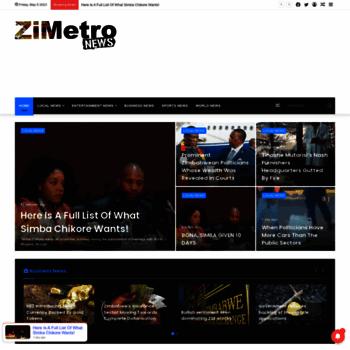 Zimetro.co.zw thumbnail