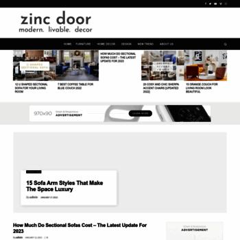Zincdoor.com thumbnail