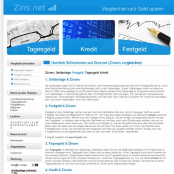Zins.net thumbnail