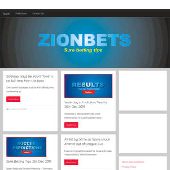 zionbets com at WI  Latest Picks - Football (soccer) betting tips