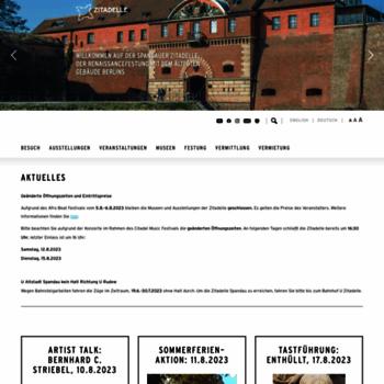 Zitadelle-spandau.de thumbnail