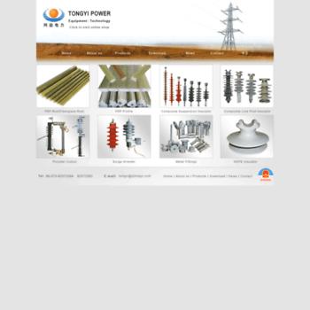 zjtongyi com at WI  Tongyi Power fiberglass rod,insulator