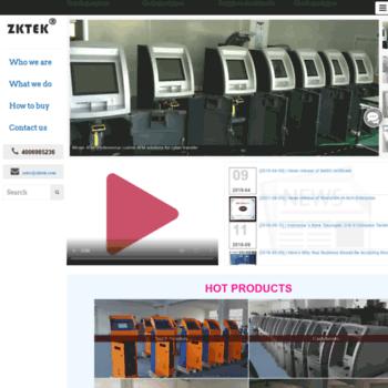Zktek.com thumbnail