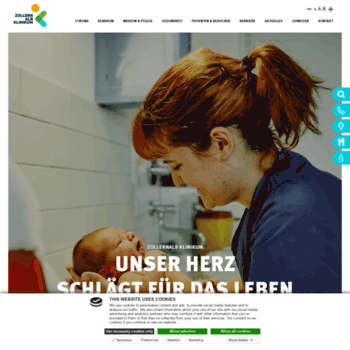 Zollernalb-klinikum.de thumbnail