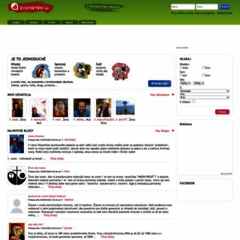 Zoznamka website.com