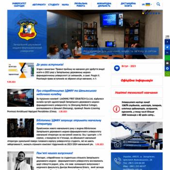 Zsmu.edu.ua thumbnail