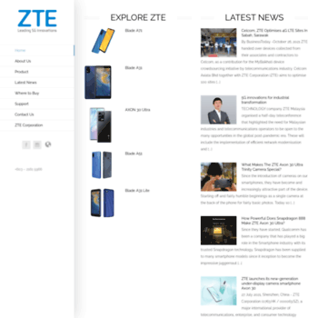 Ztedevices.com.my thumbnail