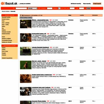 zvierata.bazos.sk at WI. Zvieratá inzercia 9a610d92e7c