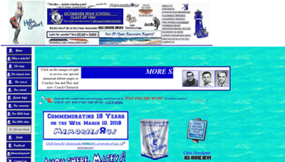 What 1960sailors.net website looked like in 2018 (2 years ago)