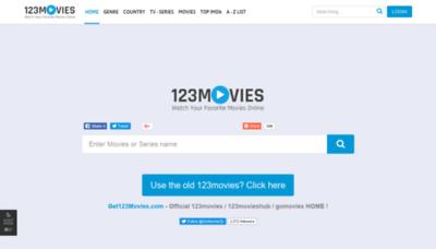 What 123movieshub.sc website looked like in 2019 (2 years ago)
