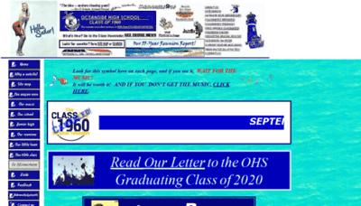What 1960sailors.net website looks like in 2021