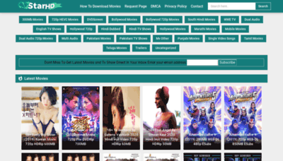 What 7starhd.store website looked like in 2020 (1 year ago)