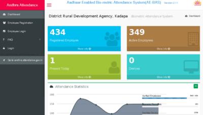 What Apdrdakdp.attendance.gov.in website looked like in 2016 (4 years ago)