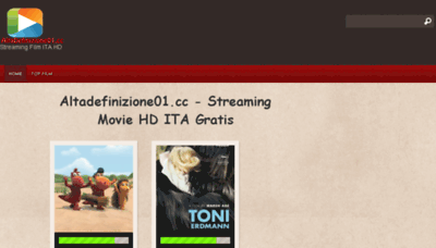 What Altadefinizione01.cc website looked like in 2016 (4 years ago)