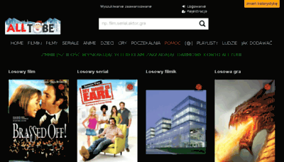 What Alltube.tv website looked like in 2016 (4 years ago)