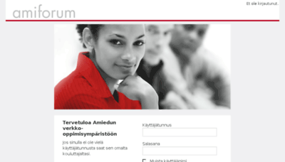 What Amiforum.fi website looked like in 2017 (4 years ago)