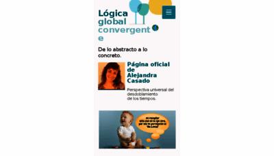 What Alejandracasado.com.ar website looked like in 2017 (3 years ago)