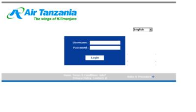 What Airtanzania.crane.aero website looked like in 2017 (4 years ago)