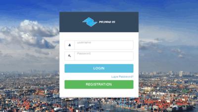 What Anjungan.pelindo.co.id website looked like in 2017 (4 years ago)