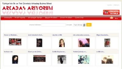 What Arkadasariyorum.gen.tr website looked like in 2017 (3 years ago)